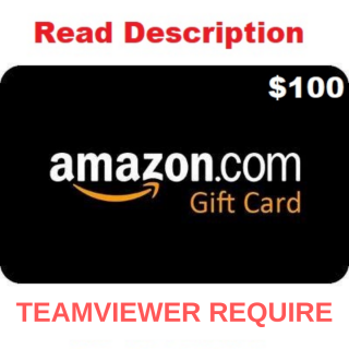 $100 Amazon ~ Fast release ~ 15% OFF - Amazon Gift Cards