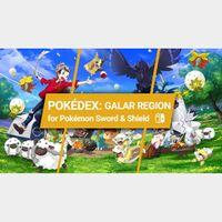 POKEMON ULTRA SQUARE SHINY 8GEN LIVING DEX | GALAR BORN AND 1 AND 2 DLC | 6IV | POKEMON SWORD SHIELD