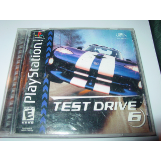 TEST DRIVE 6  PS1