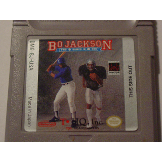 BO JACKSON / TWO GAMES IN ONE