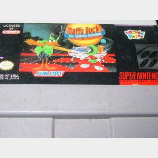 DAFFY DUCK / MARVIN MISSIONS SNES