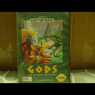 GODS / SEGA GENESIS