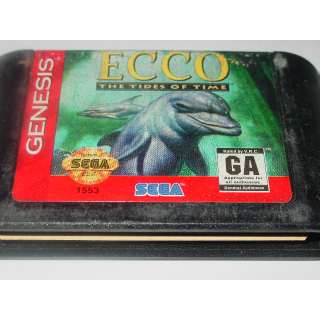 ECCO / THE TIDE OF TIME  SEGA GENESIS