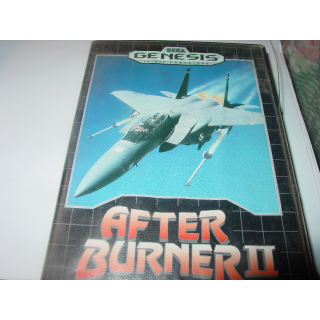AFTER BURNER II  SEGA GENESIS