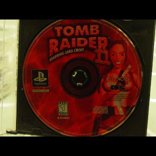 TOMB RAIDERS II  PS1