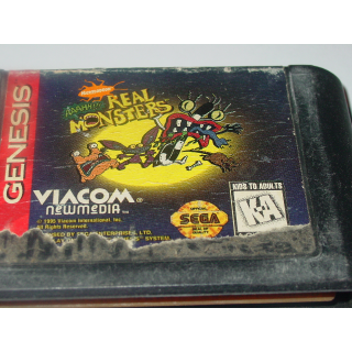 AAAHH REAL MONSTERS  SEGA GENESIS