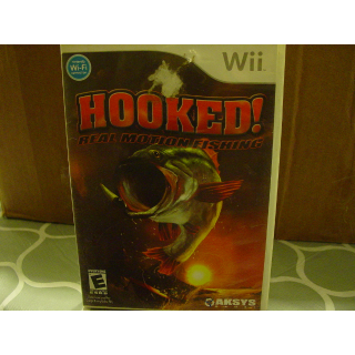 HOOKED / REAL MOTION FISHING   WII