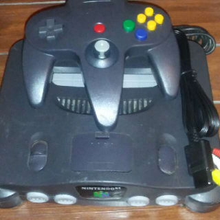 NINTENDO N64 CONSOLE COMPLETE!!!!
