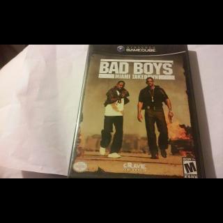 BAD BOYS MIAMI TAKEDOWN  GAMECUBE
