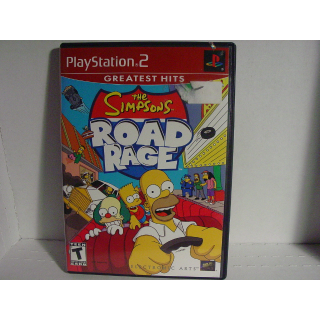 THE SIMPSONS / ROAD RAGE   PS2