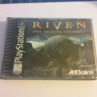 RIVEN / THE SEQUEL TO MYST  PS1
