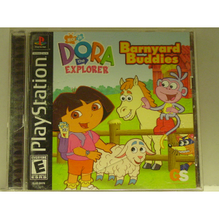 DORA THE EXPLORER /BARNYARD BUDDIES PS1