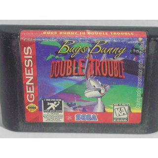BUGS BUNNY IN DOUBLE TROUBLE / SEGA GENESIS