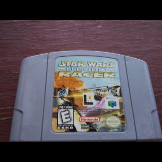 STAR WARS /EPISODE RACER N64