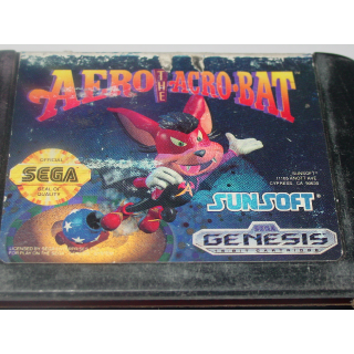 AERO THE ACRO-BAT  SEGA GENESIS