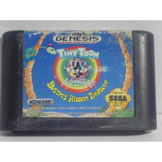 TINY TOONS ADVENTURES / BUSTER'S HIDDEN TREASURE / SEGA GENESIS