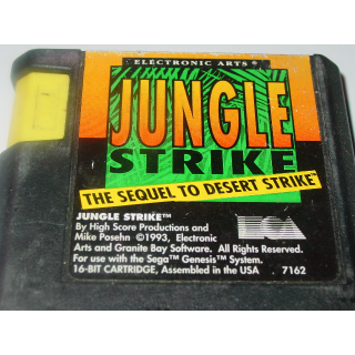 JUNGLE STRIKE   SEGA GENESIS
