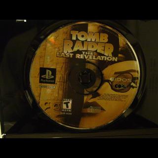 TOMB RAIDERS / THE LAST REVELATION  PS1