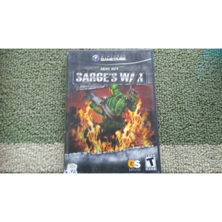 ARMY MEN SARGE'S WAR GAMECUBE