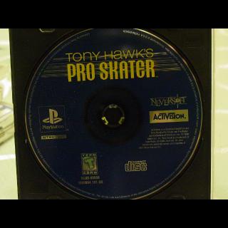 TONY HAWK  PRO-SKATER  PS1