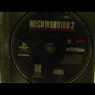 MECH WARRIOR 2  PS1