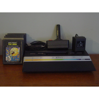 ATARI JUNIOR (2600) PLUS (4) GAMES!!!!