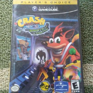 CRASH BANDICOOT/ THE WRATH OF CORTEX  /  GAMECUBE