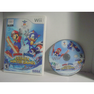MARIO & SONIC / AT THE OLYMPIC WINTER GAMES WII