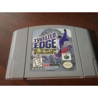 TWISTED EDGE / EXTREME SNOWBOARDING N64