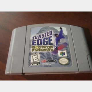 TWISTED EDGE / EXTREME SNOWBOARDING N64