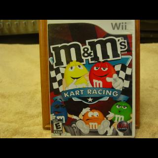 M&M KART RACING WII