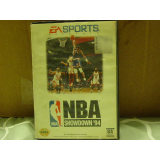 NBA SHOWDOWN '98  SEGA GENESIS