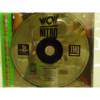 WCW NITRO / WRESTLING PS1