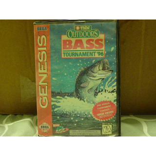 TNT OUTDOOR BASS TOURAMENT   SEGA GENESIS
