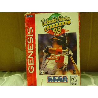 WORLD SERIES BASEBALL '98 SEGA GENESIS