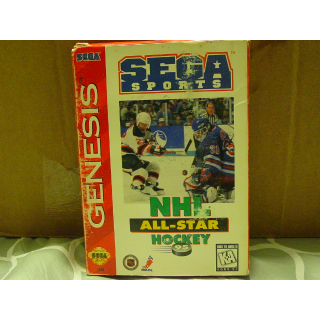 NHL  ALL-STAR  HOCKEY  / SEGA GENESIS