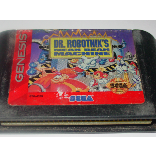 DR. ROBOTNIK'S / MEAN BEAN MACHINE  SEGA GENESIS