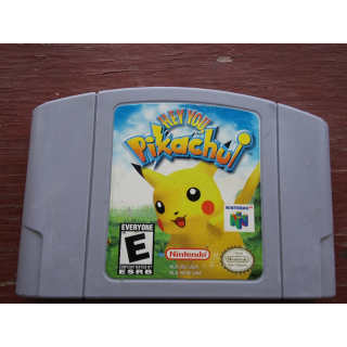 HEY YOU PIKACHUI N64