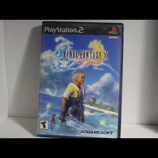 FINAL FANSTASY X  PS2