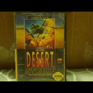 DESERT STRIKE / SEGA GENESIS