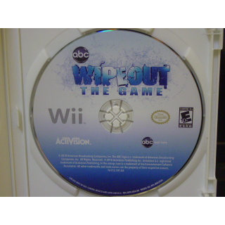 WIPE OUT   / THE GAME  WII