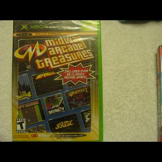 MIDWAY ARCADE ARCADE TREASURES!!!!!! XBOX