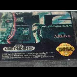 TERMINATOR 2 / ARCADE GAME / SEGA GENESIS
