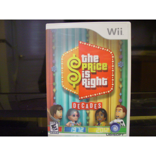 THE PRICE IS RIGHT  WII