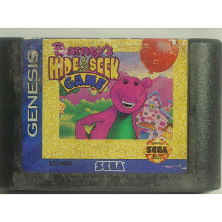 BARNEY'S HIDE & SEEK GAME / SEGA GENESIS