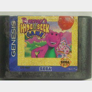 BARNEY'S HIDE & SEEK GAME / SEGA GENESIS