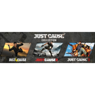 Just Cause Collection Bundle (PC) Steam Key - GLOBAL