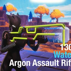 Argon Assault Rifle | 130 Water Argon Assault Riffle 373.7/375