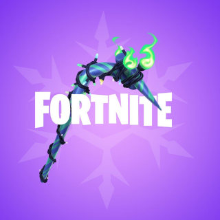 Fortnite Merry Minty Pickaxe Instant Delivery