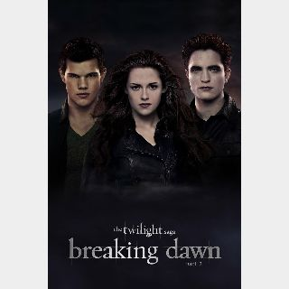 The Twilight Saga: Breaking Dawn - Part 2 *FULL CODE*